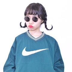 簡単ヘアアレンジ ストリート ヘアアレンジ 暗髪 ヘアスタイルや髪型の写真・画像