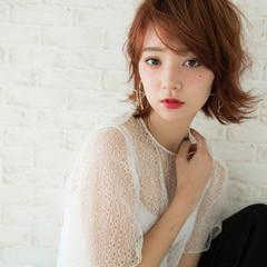 ストリート ハイトーン ピンク 外国人風 ヘアスタイルや髪型の写真・画像