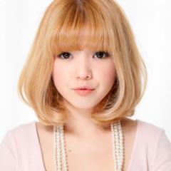 渋谷系 フェミニン 色気 ボブ ヘアスタイルや髪型の写真・画像