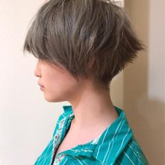 秋 アッシュ ストリート 冬 ヘアスタイルや髪型の写真・画像