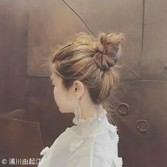 デート ロング ゆるふわ パーティ ヘアスタイルや髪型の写真・画像