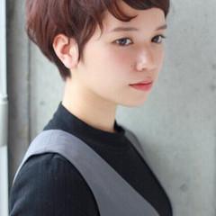 ストリート ショート 外国人風 冬 ヘアスタイルや髪型の写真・画像