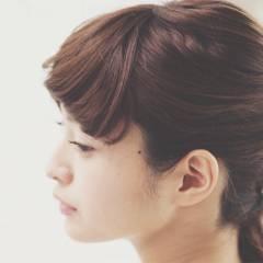 モテ髪 ミディアム 愛され フェミニン ヘアスタイルや髪型の写真・画像
