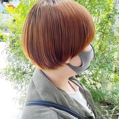 ガーリー ショートヘア ボブ ミニボブ ヘアスタイルや髪型の写真・画像
