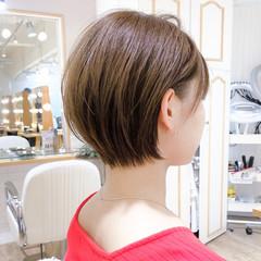 ベリーショート ナチュラル ショート ショートヘア ヘアスタイルや髪型の写真・画像