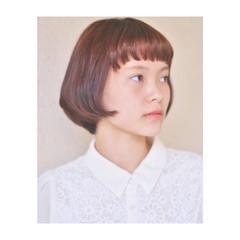 小顔 大人女子 ナチュラル 色気 ヘアスタイルや髪型の写真・画像