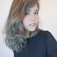 秋 愛され 外国人風カラー モテ髪 ヘアスタイルや髪型の写真・画像