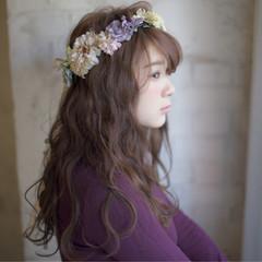 ショート 結婚式 ロング 大人かわいい ヘアスタイルや髪型の写真・画像
