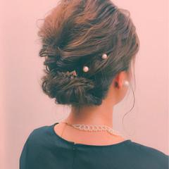 ショート ボブ ヘアアレンジ 大人女子 ヘアスタイルや髪型の写真・画像