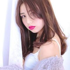 ロング 銀座美容室 イルミナカラー グラデーションカラー ヘアスタイルや髪型の写真・画像