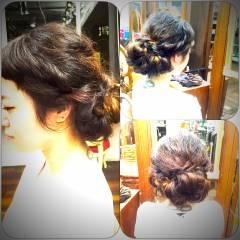 ねじり 編み込み ストリート パンク ヘアスタイルや髪型の写真・画像