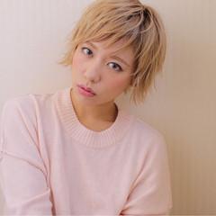 渋谷系 オン眉 ストリート パンク ヘアスタイルや髪型の写真・画像