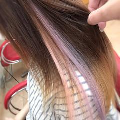 韓国ヘア エクステ ガーリー 夏 ヘアスタイルや髪型の写真・画像