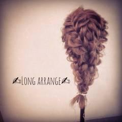 大人かわいい ナチュラル 編み込み ロング ヘアスタイルや髪型の写真・画像