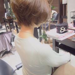 夏 似合わせ 小顔 ショート ヘアスタイルや髪型の写真・画像