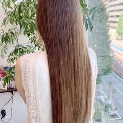 大人かわいい 髪質改善 ロング 髪質改善カラー ヘアスタイルや髪型の写真・画像