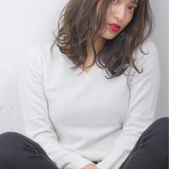 ハイライト 外国人風 暗髪 ストリート ヘアスタイルや髪型の写真・画像