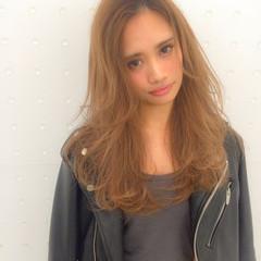 渋谷系 ストリート ロング 大人かわいい ヘアスタイルや髪型の写真・画像