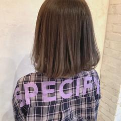 グラデーションカラー アッシュ グレージュ ハイライト ヘアスタイルや髪型の写真・画像