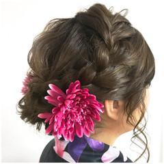 涼しげ 色気 フェミニン 和装 ヘアスタイルや髪型の写真・画像