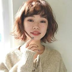 ナチュラル ボブ 大人女子 小顔 ヘアスタイルや髪型の写真・画像