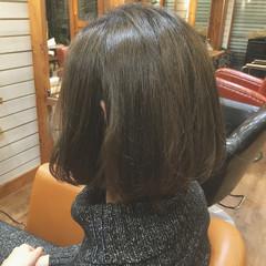 大人女子 外国人風 ナチュラル ボブ ヘアスタイルや髪型の写真・画像