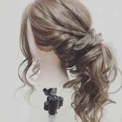 ヘアアレンジ 大人女子 デート ロング ヘアスタイルや髪型の写真・画像