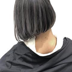 ボブ バレイヤージュ ハイライト ミニボブ ヘアスタイルや髪型の写真・画像