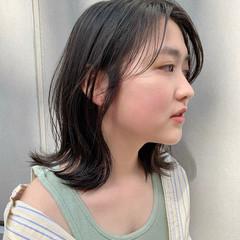 ナチュラル ミディアム 髪質改善 大人可愛い ヘアスタイルや髪型の写真・画像