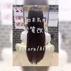 モテ髪 髪質改善 艶髪 フェミニン ヘアスタイルや髪型の写真・画像