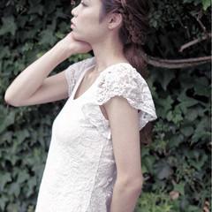 ロング ヘアアレンジ 結婚式 大人女子 ヘアスタイルや髪型の写真・画像