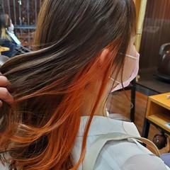 ナチュラルグラデーション グラデーションカラー コントラストハイライト ハイライト ヘアスタイルや髪型の写真・画像