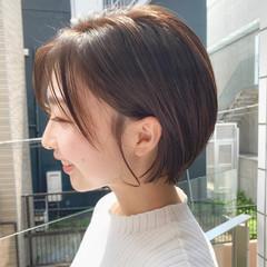 大人かわいい デート オフィス ショート ヘアスタイルや髪型の写真・画像