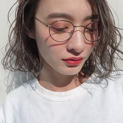 グレージュ アッシュグレージュ ミルクティーグレージュ ボブ ヘアスタイルや髪型の写真・画像