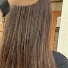 ゆるふわ デート ストレート ロング ヘアスタイルや髪型の写真・画像