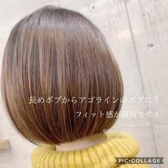 色気 ワンレングス ナチュラル 大人女子 ヘアスタイルや髪型の写真・画像