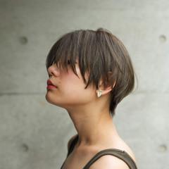 外国人風 ショート ナチュラル 色気 ヘアスタイルや髪型の写真・画像