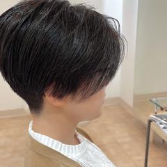 ショート ナチュラル ツーブロック ショートヘア ヘアスタイルや髪型の写真・画像