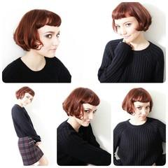レトロ ガーリー 暗髪 外国人風 ヘアスタイルや髪型の写真・画像
