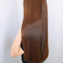 髪質改善 ロング 髪質改善トリートメント 韓国ヘア ヘアスタイルや髪型の写真・画像