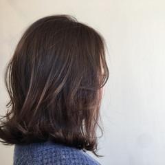 切りっぱなし ストリート フェミニン 外ハネ ヘアスタイルや髪型の写真・画像