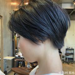ブリーチオンカラー 透明感カラー ハイトーンカラー ショート ヘアスタイルや髪型の写真・画像