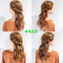 ヘアアレンジ デート ハロウィン アウトドア ヘアスタイルや髪型の写真・画像