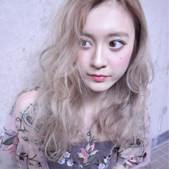 グラデーションカラー 外国人風カラー アッシュ グレージュ ヘアスタイルや髪型の写真・画像