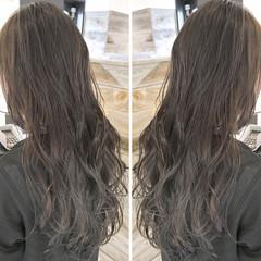 アンニュイ ウェーブ ヘアアレンジ ハイライト ヘアスタイルや髪型の写真・画像