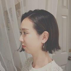 ボブ 冬 フェミニン デート ヘアスタイルや髪型の写真・画像