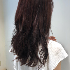 ナチュラル ヘアカラー ピンクアッシュ レディース ヘアスタイルや髪型の写真・画像