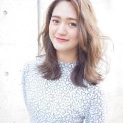 パンク 外国人風 春 ミディアム ヘアスタイルや髪型の写真・画像