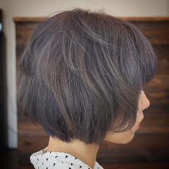 ストリート グレージュ ボブ ブルージュ ヘアスタイルや髪型の写真・画像