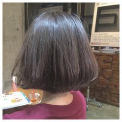 外国人風 グラデーションカラー グレージュ ガーリー ヘアスタイルや髪型の写真・画像